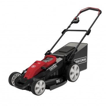 20in 40-Volt Lithium-Ion Battery 3-in-1 Cordless Push Lawn Mower