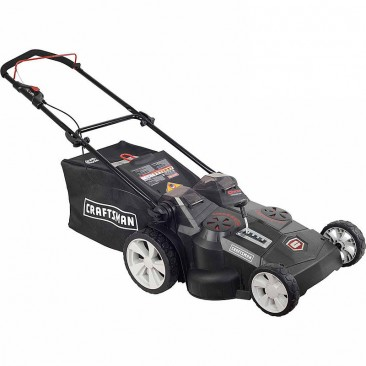 Electric 2-in-1 Cordless Push Lawn Mower