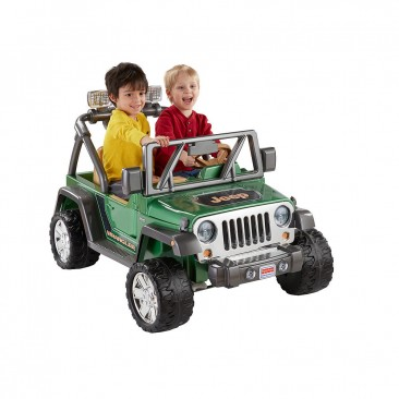 Fisher-Price Power Wheels Deluxe Jeep Wrangler