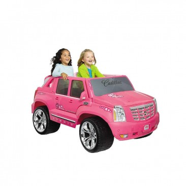Power Wheels Fisher-Price Barbie Cadillac Hybrid Escalade EXT Ride-On - Pink