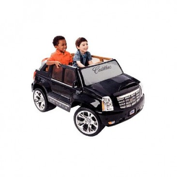Power Wheels Fisher-Price Cadillac Hybrid Escalade EXT Ride-On - Black
