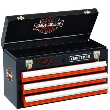 Tool Box Harley Davison Balck